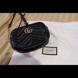 Authentic Gucci Marmont Mini Crossbody